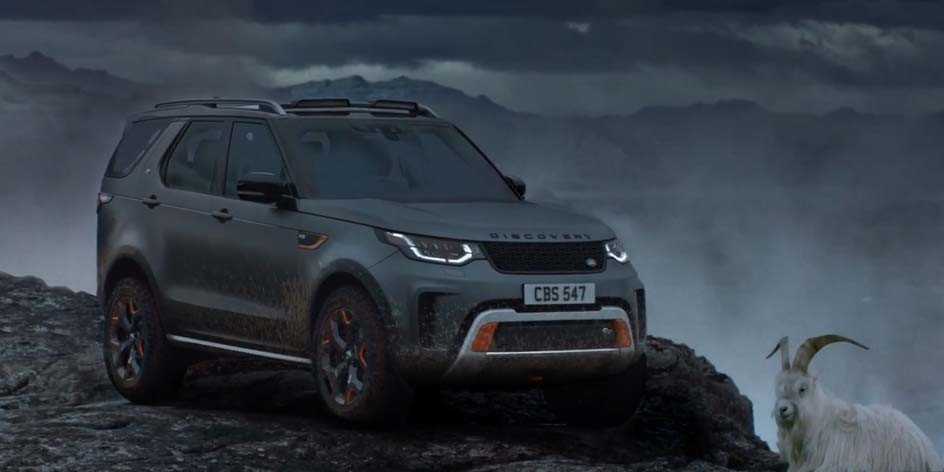 Land Rover | Discovery SVX, The Goat